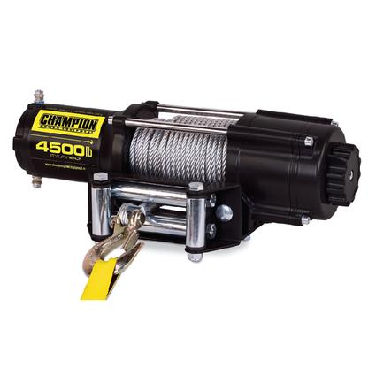 Champion 4,500 lb. ATV and UTV Power Winch