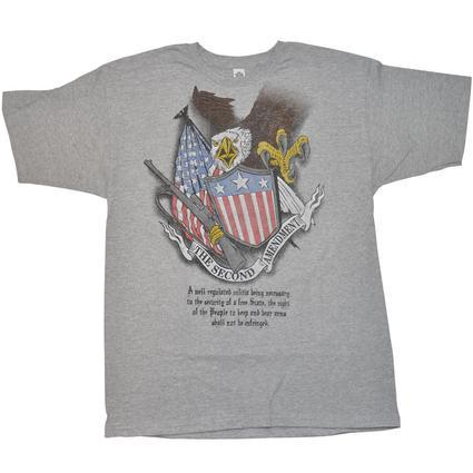 Men's Second Amendment T-Shirt - X Large