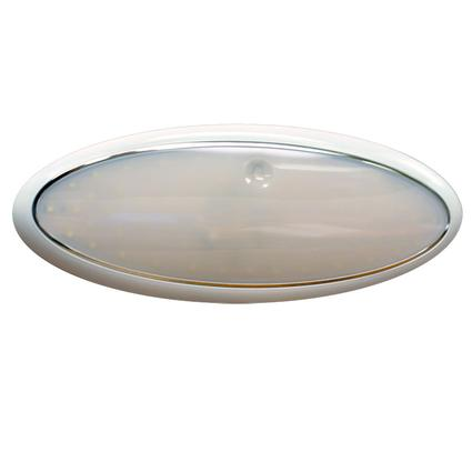 """11"""" Oval LED Slim Line Touch Light Fixture with 72 SMD Diodes"""