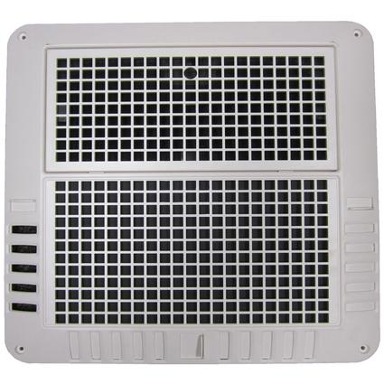 Coleman-Mach ChillGrille Flush Mount Ceiling Assembly for Heat Pumps, White