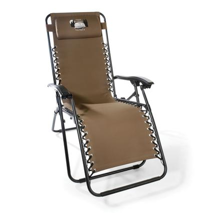 Home is Where You Park It Zero Gravity Recliner, Tan