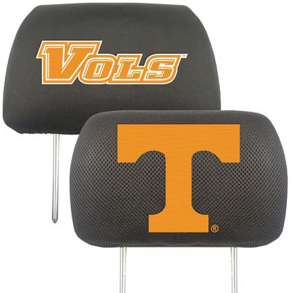 Fanmats Head Rest Covers, Set of 2 - University of Tennessee