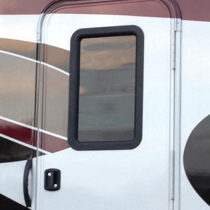 Clear View Entry Door Window Kit