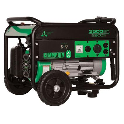 Champion 3500 Watt LP Generator