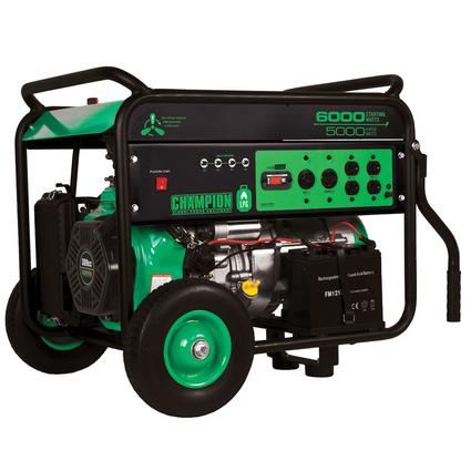 Champion 6000 Watt LP Generator
