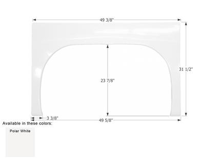 Gulf Stream Single Axle Fender Skirt FS1947