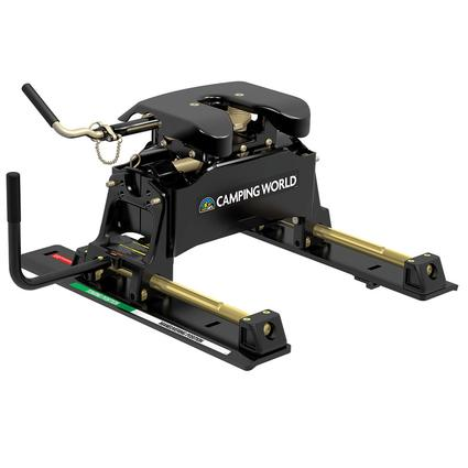 Camping World 5th Wheel Hitches by Curt, 20K Q Hitch with roller