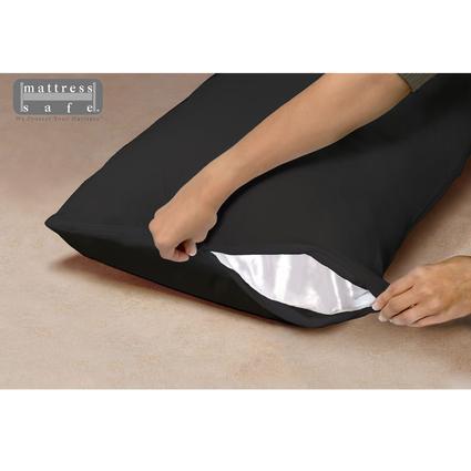 "Standard Waterproof Pillow Encasement, 21"" x 27"" - Black Onyx"