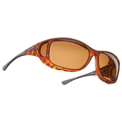 Cocoons Style Line MX Sunglasses - Tortoiseshell with Amber Lens