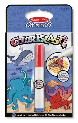 On The Go Color Blast Sea Life