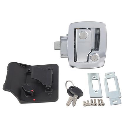 Travel Trailer Replacement Door Latches, Chrome Finish