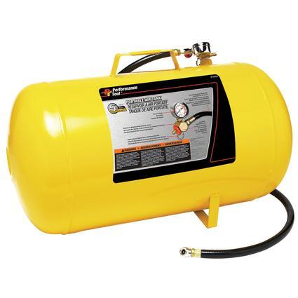 Portable Compressed Air Tank, 5 Gallon