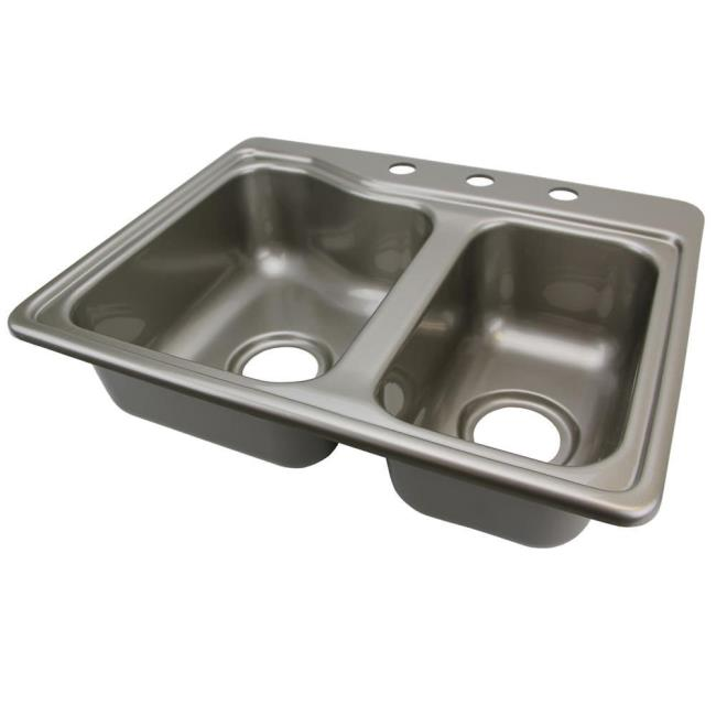 image double kitchen sink stainless steel color to enlarge the image click or - Double Kitchen Sink