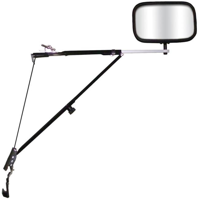 Image Deluxe Door Mount Towing Mirror. To Enlarge The Image, Click Or Press  Enter .