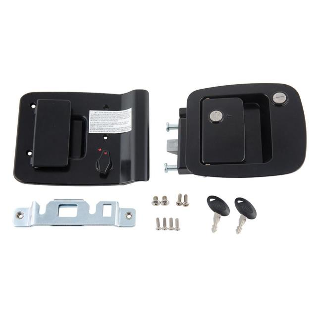 Image RV Entrance Motor Home Lock. To Enlarge The Image, Click Or Press  Enter .