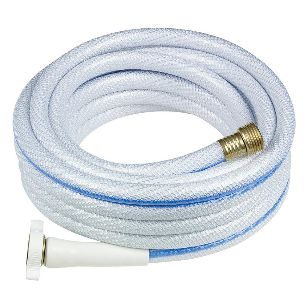 NeverKink Hose   White, 25 x 1/2 dia.   Teknor Apex 7602 25   Hoses, Reels & Fittings