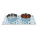 Stay-On Mat Dining Trio, Blue