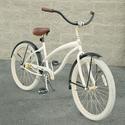 Villy Cruiser Bikes, Women's White Cruiser