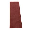 Color Tracks Rug Runner, Crimson