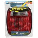 Universal-Mount Tail Light 6-function combination, Red