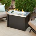 Providence Stainless Steel Fire Pit Table