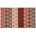 Serenity Reversible Patio Mat, 9' x 12', Terracotta/Brown