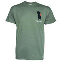 Dog is Good Never RV Alone Unisex Tee, Blue Heather XL