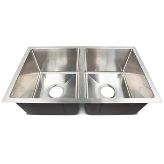 Genuine Stainless Steel Sinks, Double