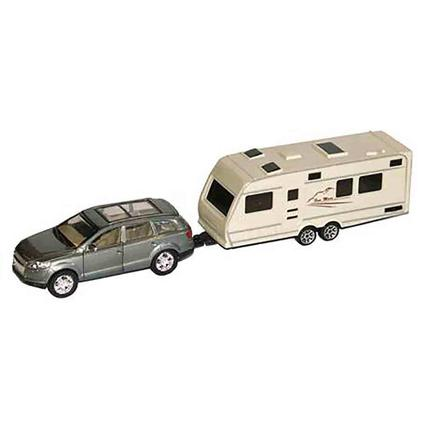 RV Collectible Toys, SUV and Trailer