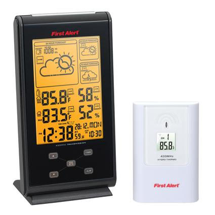 First Alert Radio Controlled Wireless Weather Station