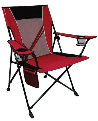 Dual Lock Chair, Red