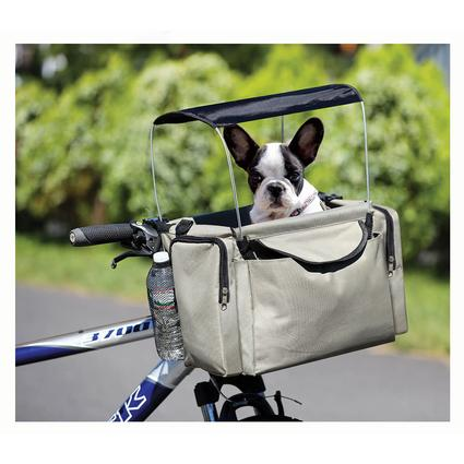 Pet Bike Basket and Carrier with Sunshade