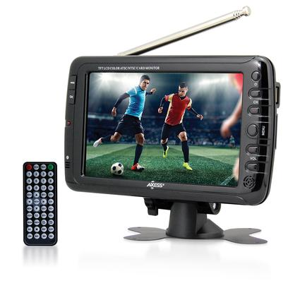 Portable Widescreen LCD TV, 7