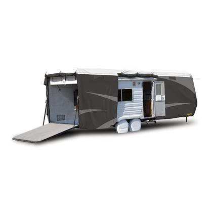 ADCO All Climate Wind Designer Tyvek RV Cover - Toy Hauler, 20'1