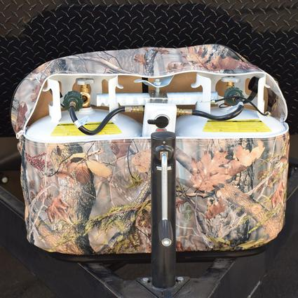 30 lb. Double, Oaks Camouflage Propane Tank Cover