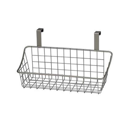 Over-Cabinet Basket, Brushed Nickel Finish