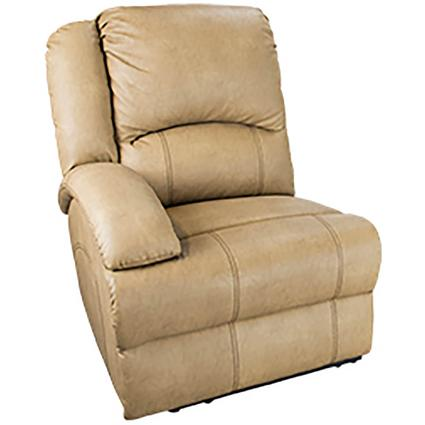 Heritage Right Arm Reclining Sofa, Beckham Tan