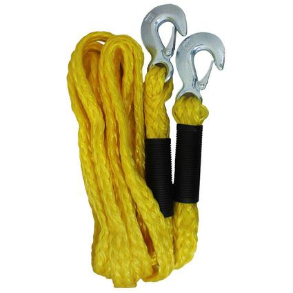13' Emergency Tow Rope with Forged Steel Hooks