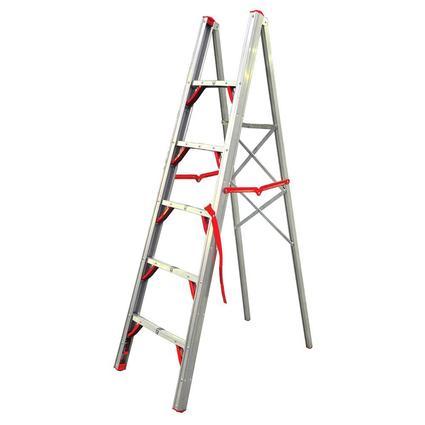 Regal Folding Aluminum Single-Sided STIK Ladder, 6