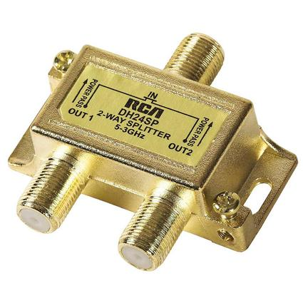 RCA Digital Plus 2-Way High Bandwidth Signal Splitter