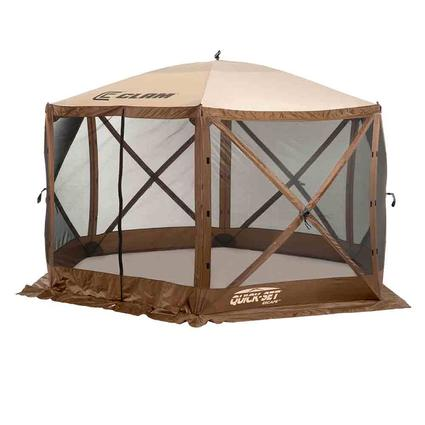 Quick-Set Escape Screen Shelter - 6 Sided