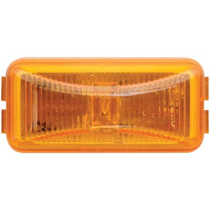 LED Mini Marker/Clearance Light Base and Mounting Hardware Included Amber, Sealed Single Diode