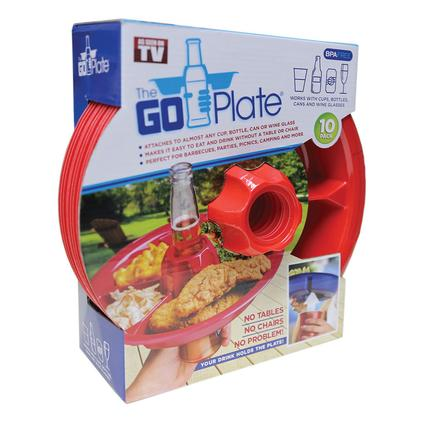 Go Plate, 10 Pack