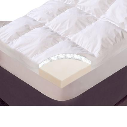 Simply Exquisite Mattress Topper Short Queen Carpenter