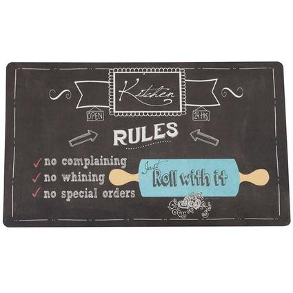 """Kitchen Comfort Mats, 18"""" x 30"""", Roll With It"""