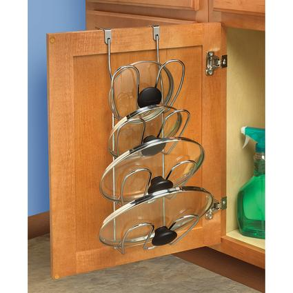 Over-Cabinet Lid Organizer