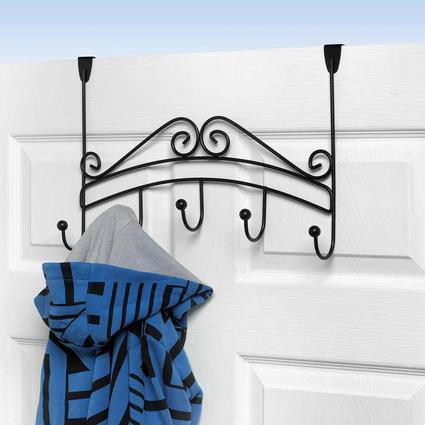 Over the Door 5-Hook Rack