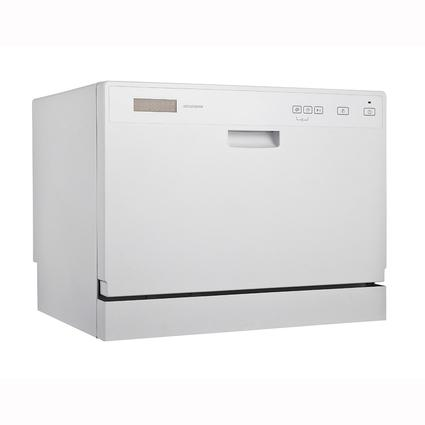 Midea Countertop Dishwasher with 6 Place Settings, White