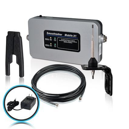 RV Kit with 120 Volt Power Source High Gain Antenna