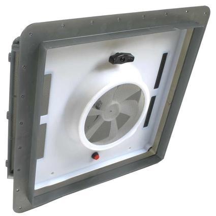 12-Volt EZ-Breeze Vent Fan, Smoke